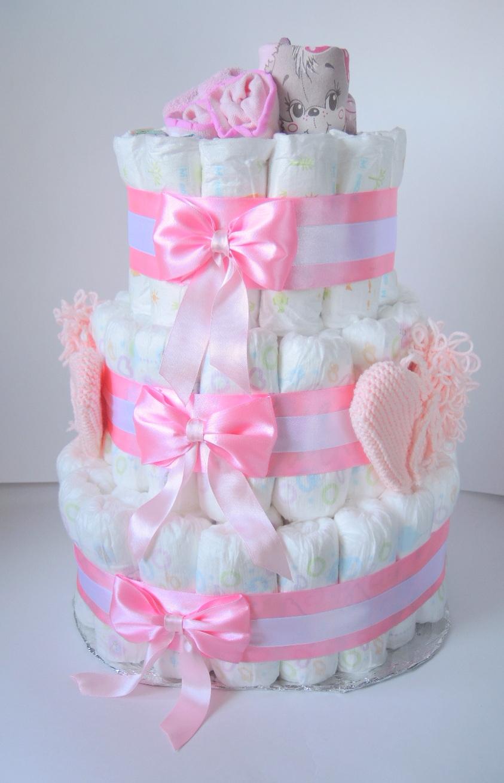 Сделать торт из памперсов своими руками поэтапно фото