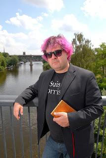 Worcestershire Poet Laureate 2014, Fergus McGonigal