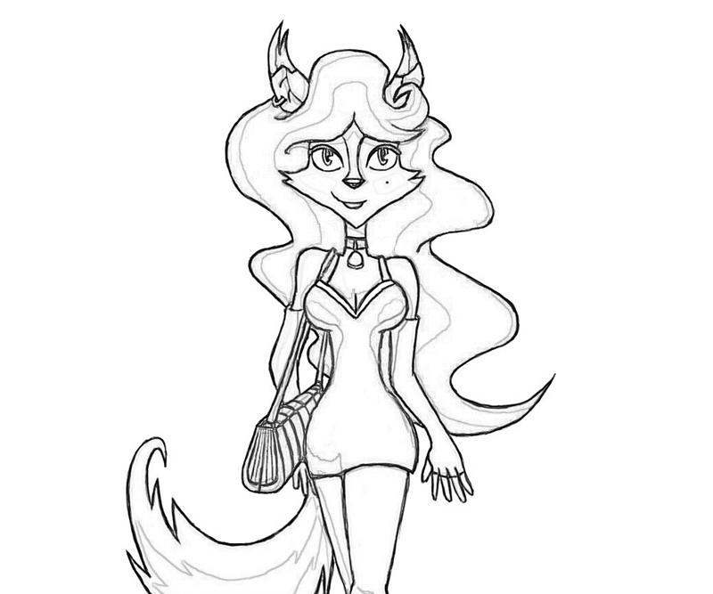Sly Cooper Coloring Pages - Free Coloring Pages