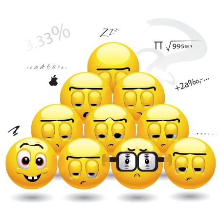Math class emoticons