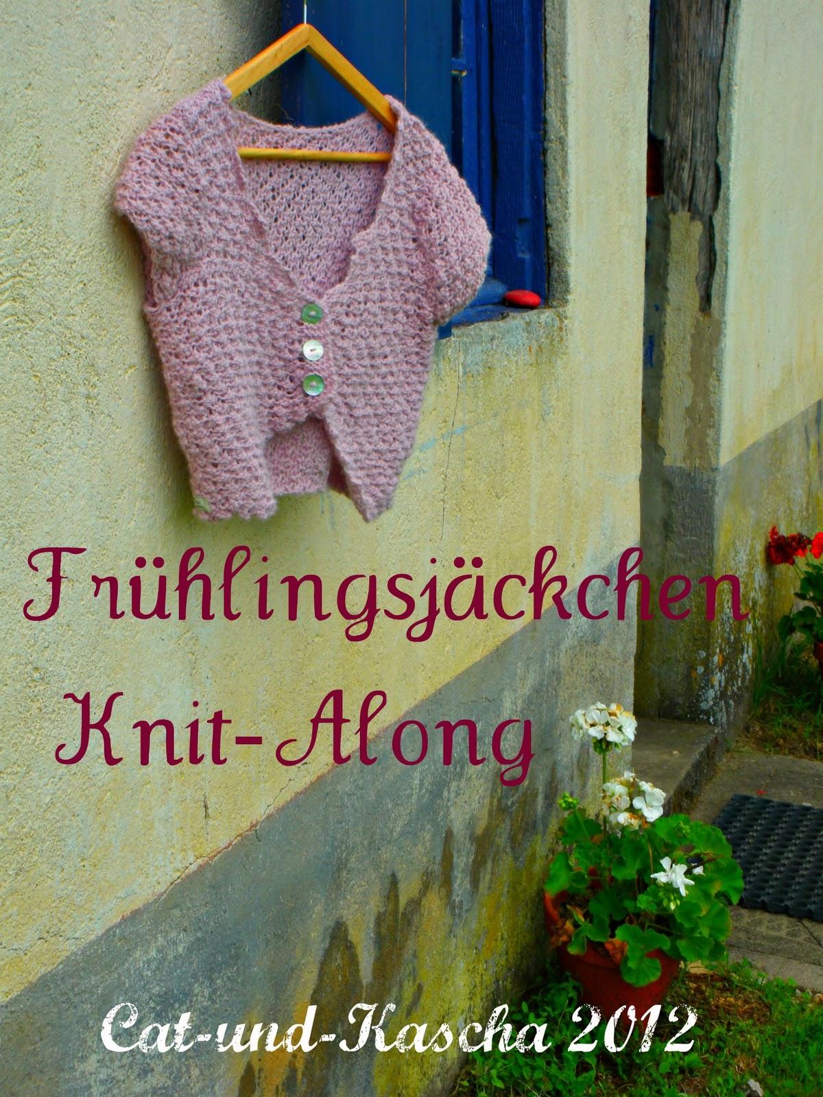 Frühlingsjäckchen Knit along