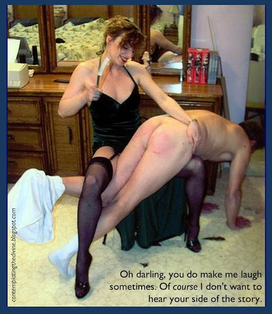 Spanked to obedience