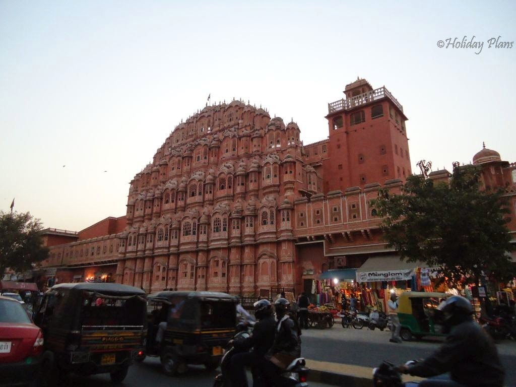images of Hawa mahal, Jaipur Rajasthan