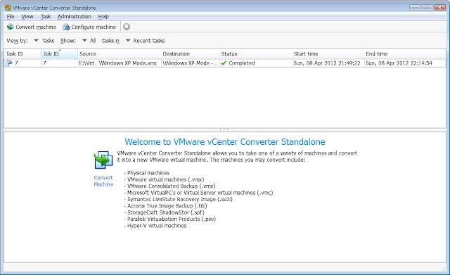 Vmware Converter Standalone 5