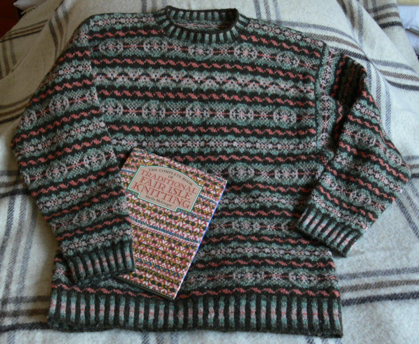 A Yarn Over Needles Fair Isle Jumper For Sale