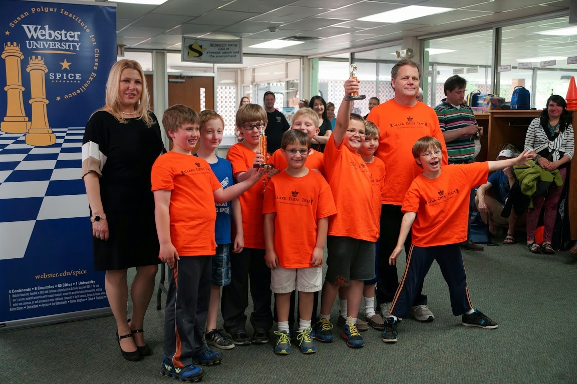 Photos from 1st annual Webster Groves School District Chess Championship