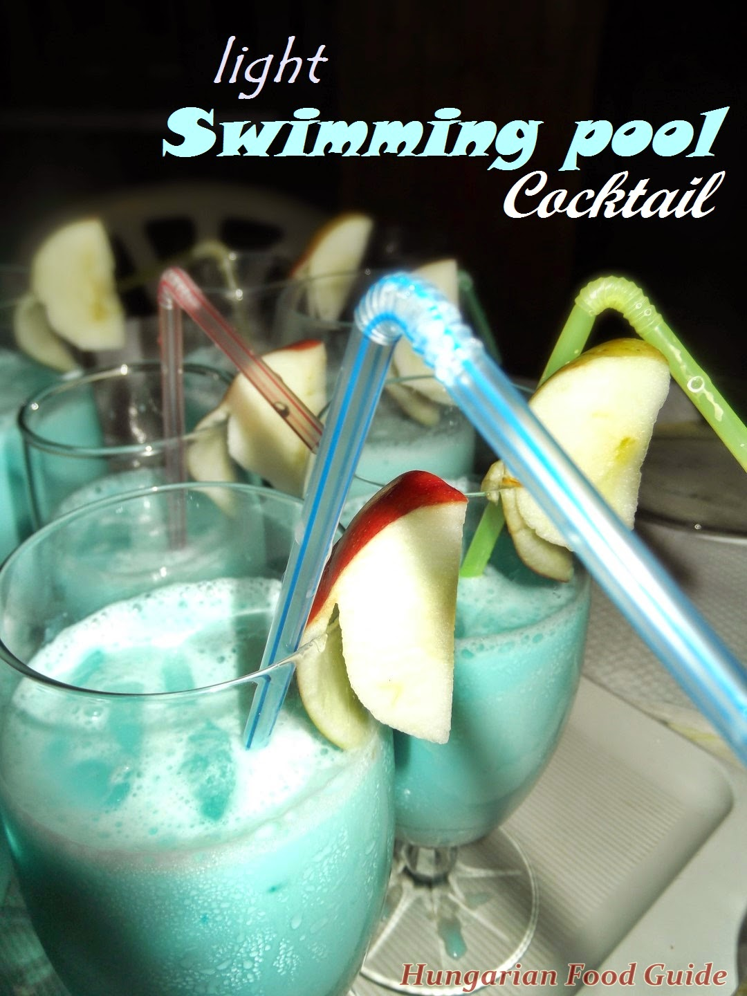 Hungarian Food Guide Light Swimming Pool Cocktail