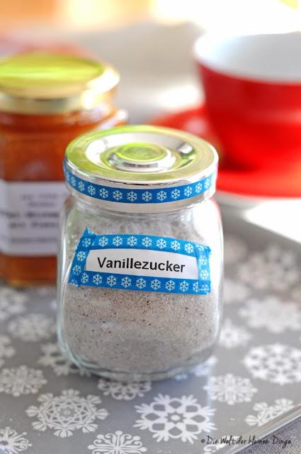 Die Welt der kleinen Dinge: Vanillezucker