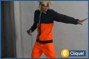 Naruto cantando tema de Pokémon