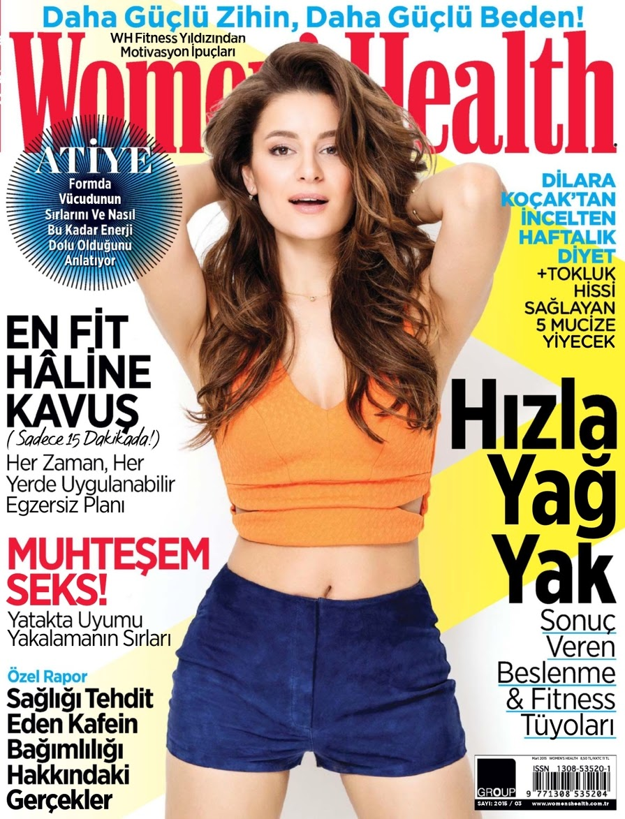 Singer, Songwriter @ Atiye Deniz - Women's Health Turkey, March 2015