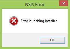 nsis error