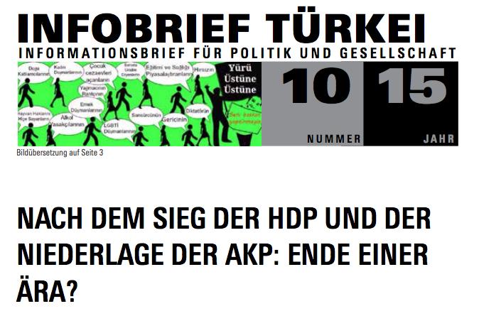 Infobrief Türkei 10/2015