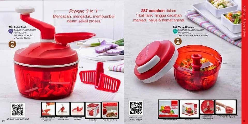 Katalog Tupperware Reguler November 2014 - Kitchen Organizer