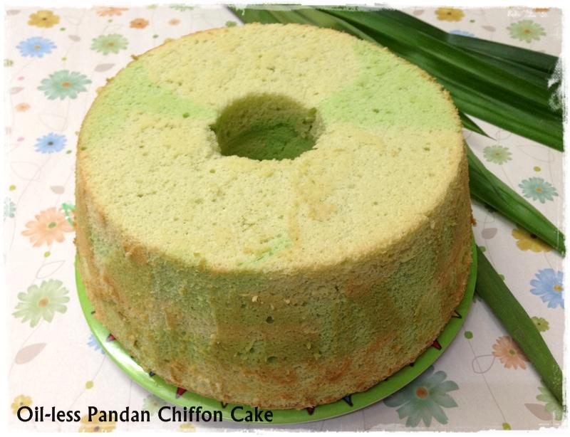 Tested Amp Tasted Oil Less Pandan Chiffon Cake