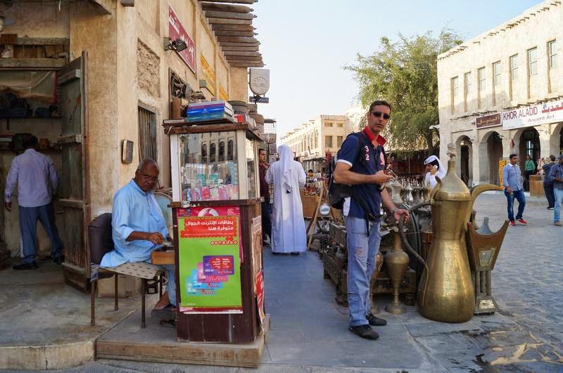 Zoco de Doha, Qatar, zoco arabe, mercado arabe, Qatar 2022,