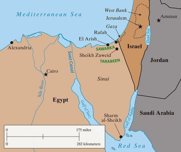 History Of Israel Onward InterestingBibleFacts - Map of egypt israel