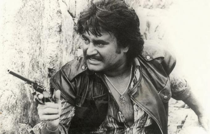 Rajinikanth in 'Blood Stone' (1988) Hollywood Movie
