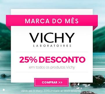 Marca do Mês | Março| VICHY -25% em TODOS os produtos