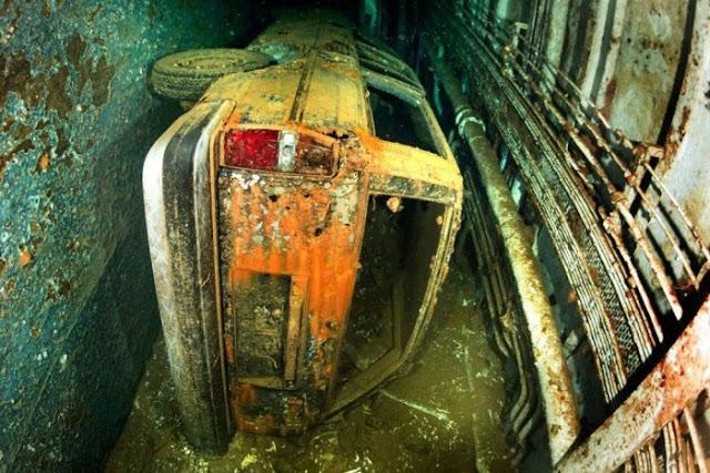 Kondisi Kapal Karam Salem ekspres Setelah 25 Tahun Tenggelam