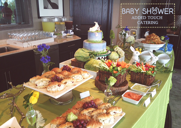 this event was even dearer to our hearts because we also catered her bridal shower take a look at this detailed collaboration with our very own coordinator