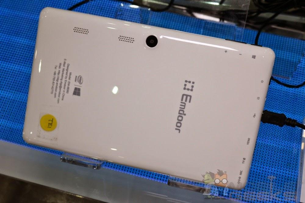 Emdoor EM-i8080 - Back