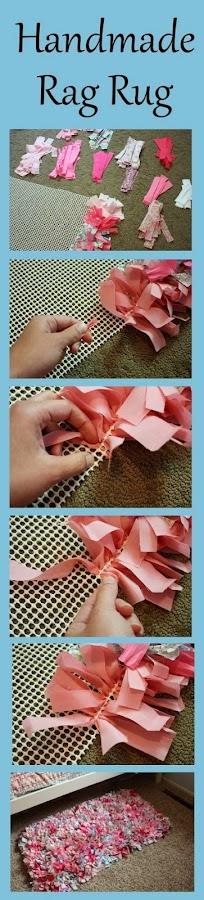Cómo hacer una alfombra con retales de tela