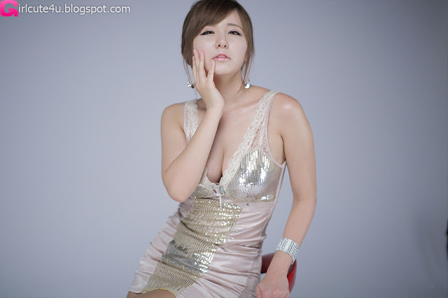 Ryu-Ji-Hye-V-Neck-Sequin-Dress-08-very cute asian girl-girlcute4u.blogspot.com
