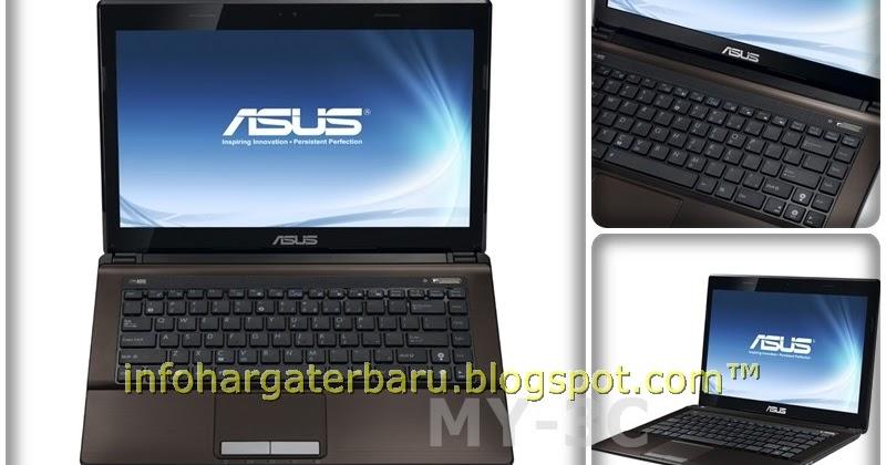 Serba Serbi Elektronik Harga ASUS A43SM VX034D Spesifikasi 2012
