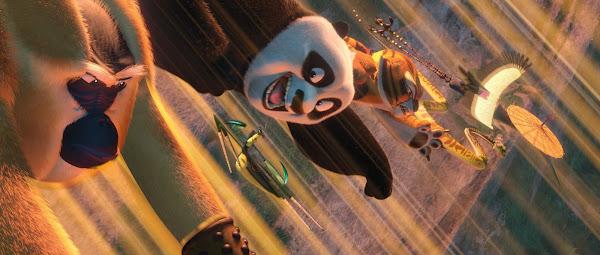 Carpet: 6 imagens de Panda do Kung Fu 2 / 6 images of Kung Fu Panda 2