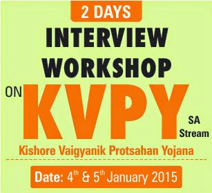 KVPY SA STREAM WORKSHOP
