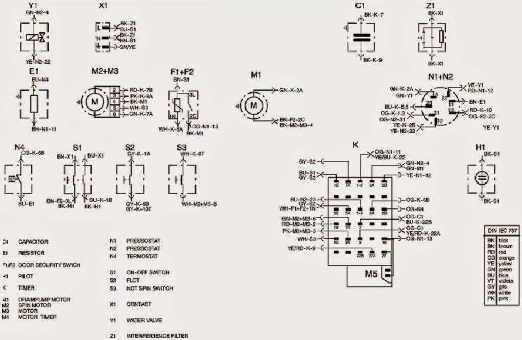 bosch washing machine wiring diagram