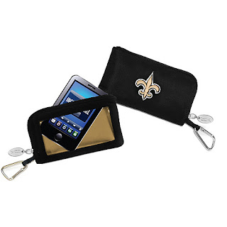 New Orleans Saints NFL Game Day ID Wallet with Touch Screen
