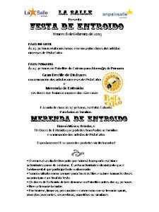 Festa Entroido 2013