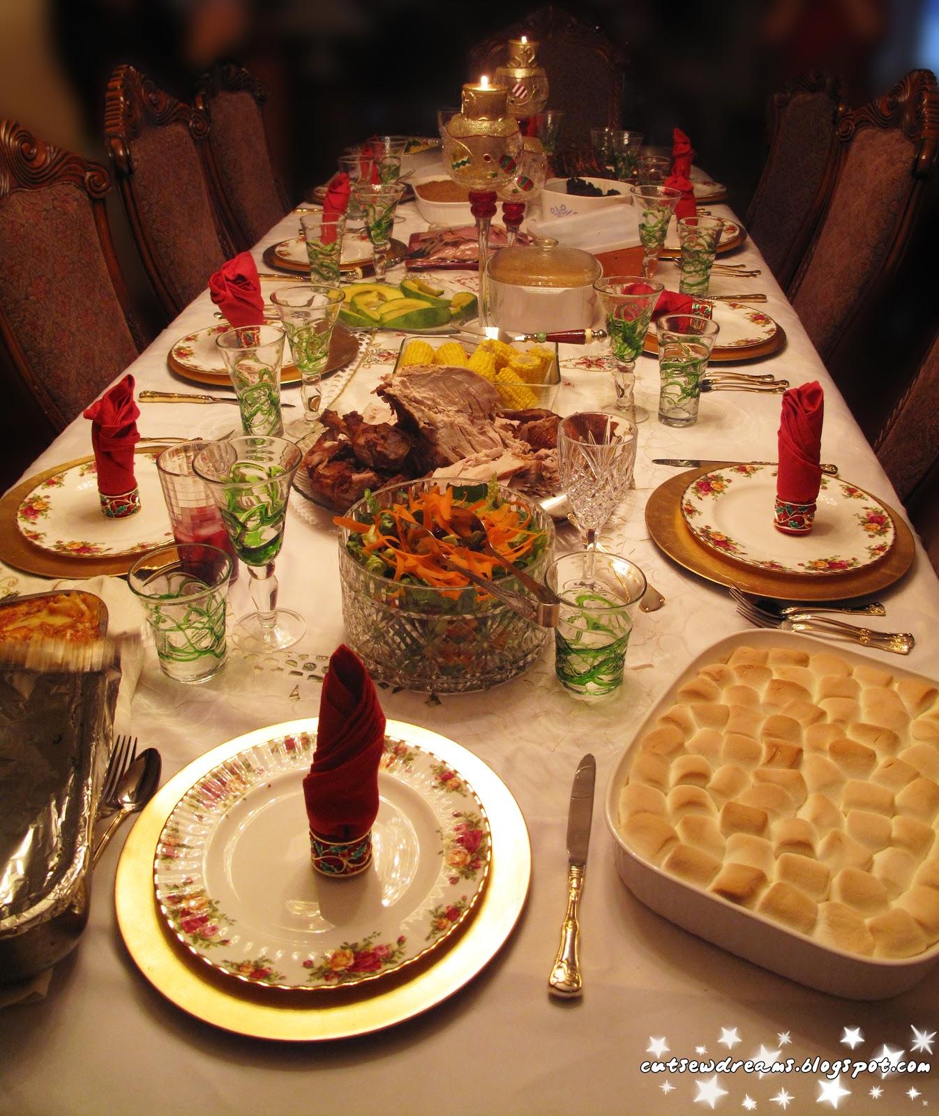 christmas christmas day foodhungerdinner dinner table salad
