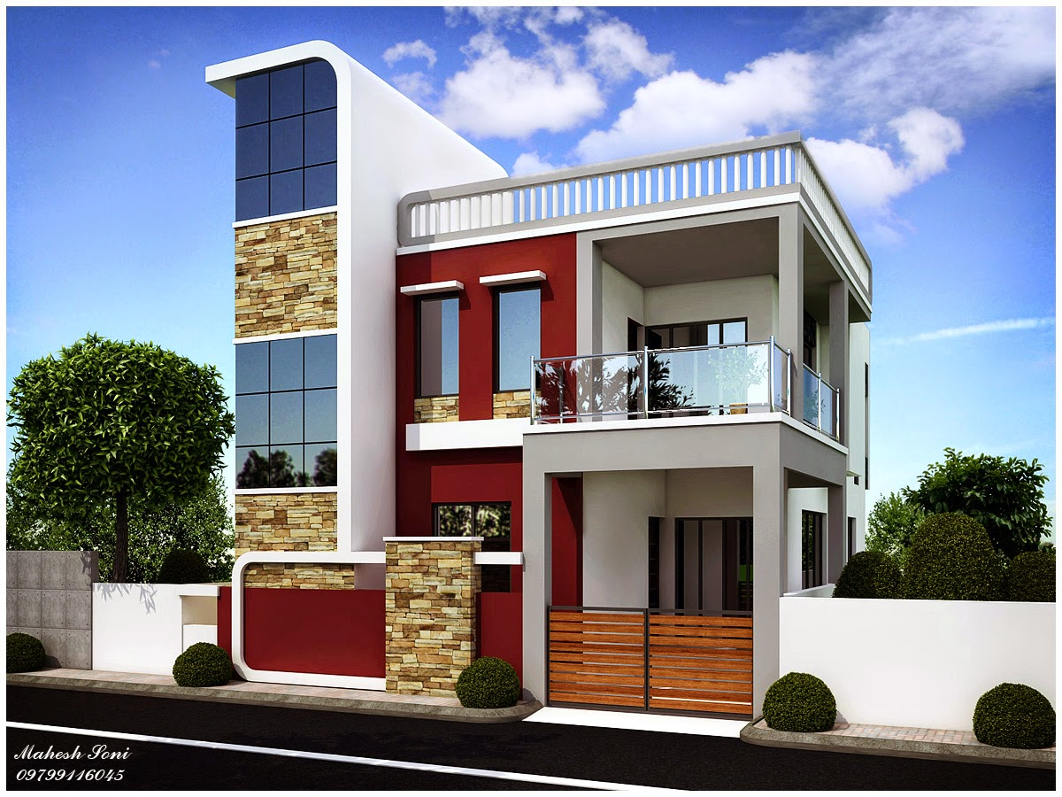 Small house elevation designs house design for Small house elevation designs