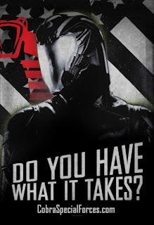 G.I. Joe Retaliation Cobra Forces Propaganda Posters