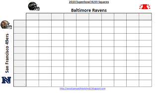 2013 superbowl squares free download
