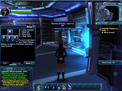 Star Trek Online - Moving Around