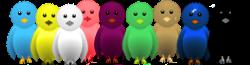 Pilihan Warna Burung Twitter