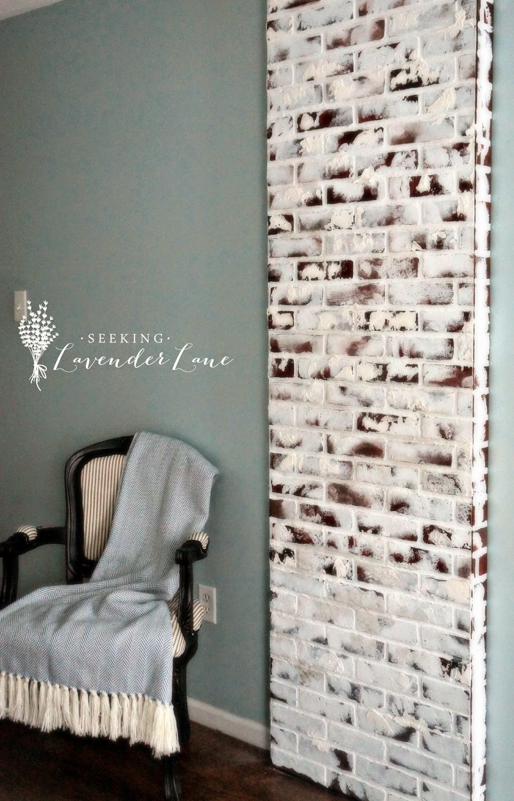 Faux Brick Chimney