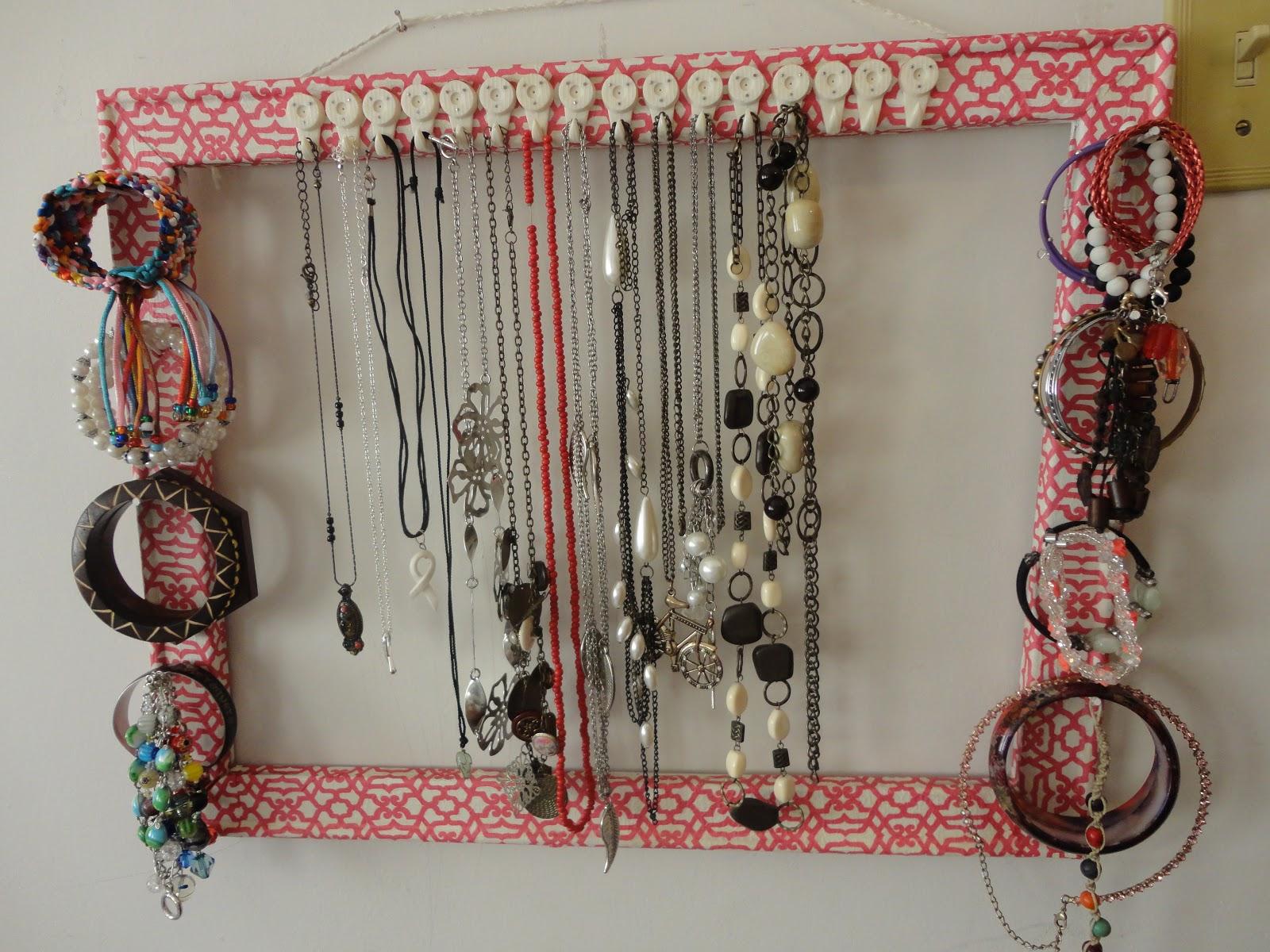 La Aceituna Coqueta Diy Organizador De Collares Y Pulseras