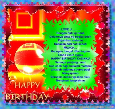 kartu ucapan selamat ulang tahun ultah keren