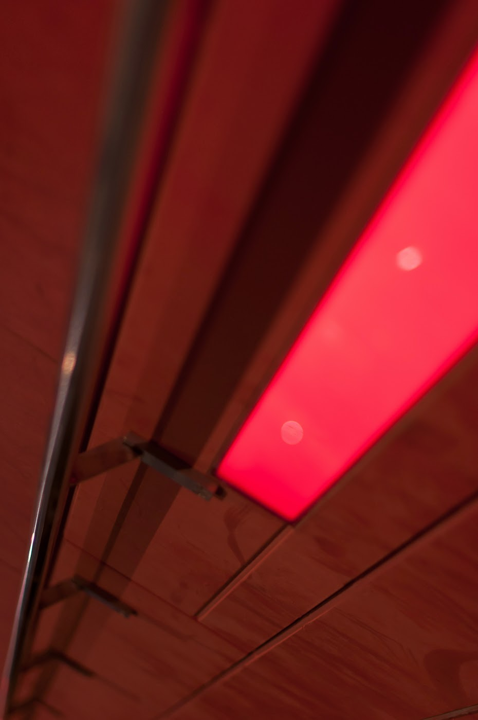 Marcus O'Reilly, Marcus oreilly, red steps, red stairs, southbank, Melbourne, Australia, abstract, abstraction, TKTS, structure, distinctive, tim macauley, detail, façade, abstractional, architect, architectural, architects