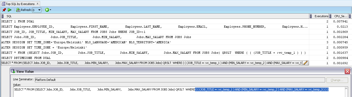 how to get only odd numbers from sql statement