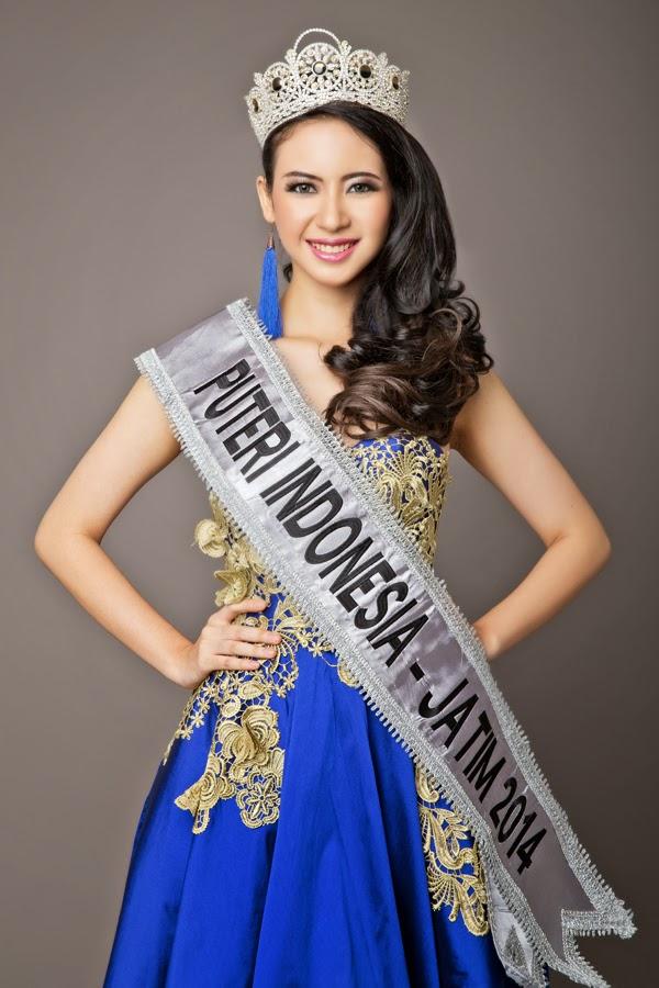 Foto Elvira Devinamira Puteri Indonesia 2014