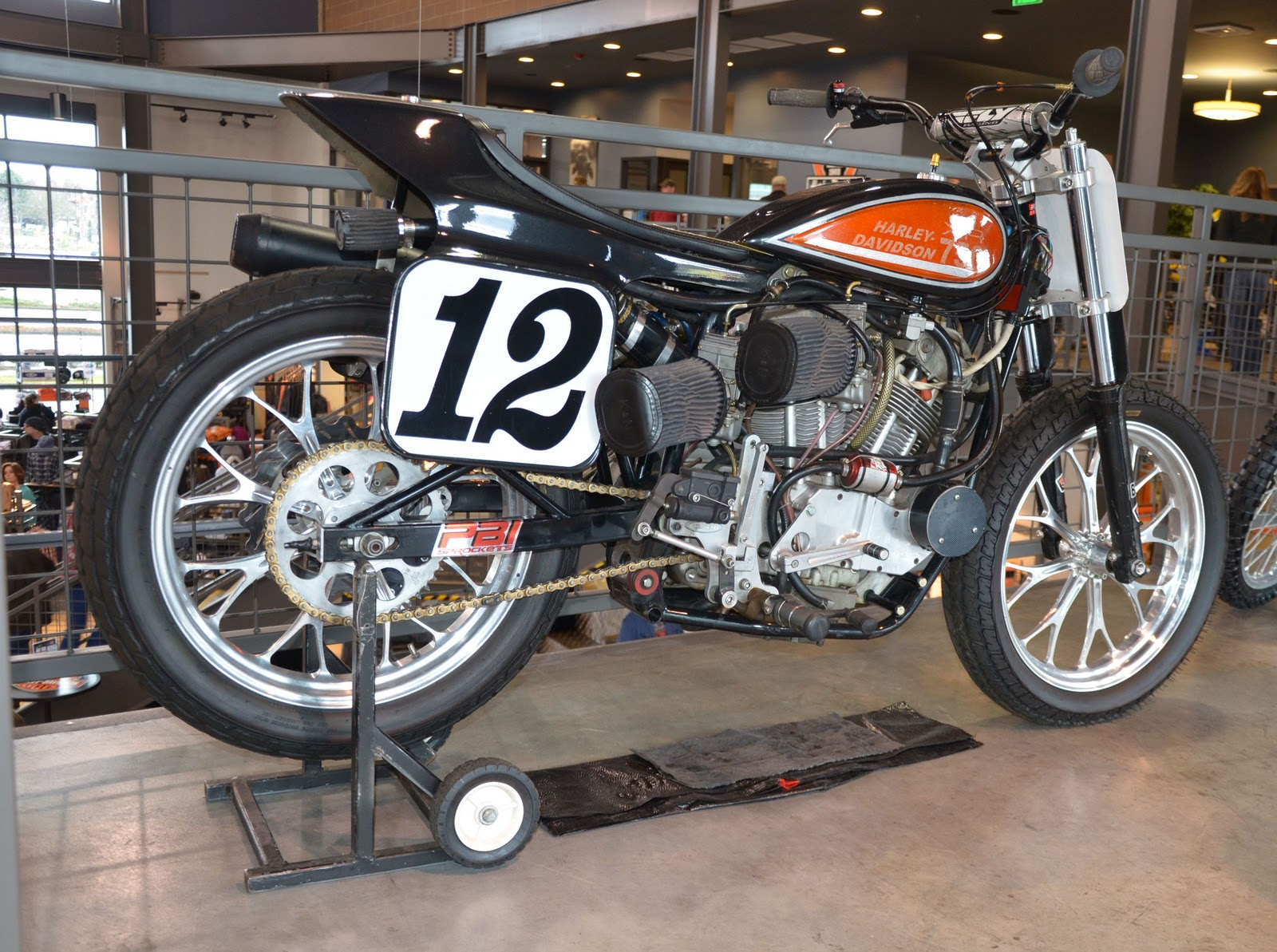 Flat Track Bikes For Sale uk Harley xr 750 Flat Track Bike