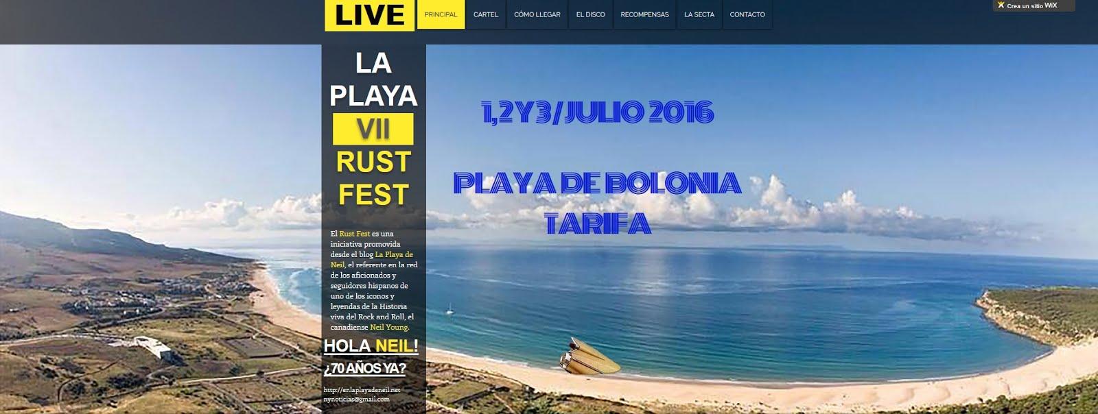 LA PLAYA VII RUST FEST