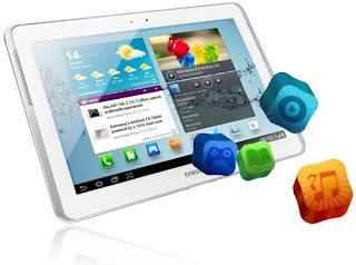 Samsung Galaxy Tab 2 10.1 P5100 Tablet 3G Harga 4 Jutaan