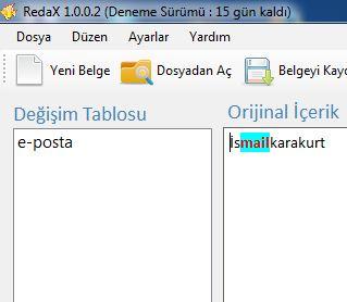 Türkçe Makale Özgünleştirme Programı - RedaX Spinner