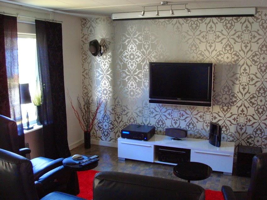 Decoração de sala de tv pequena